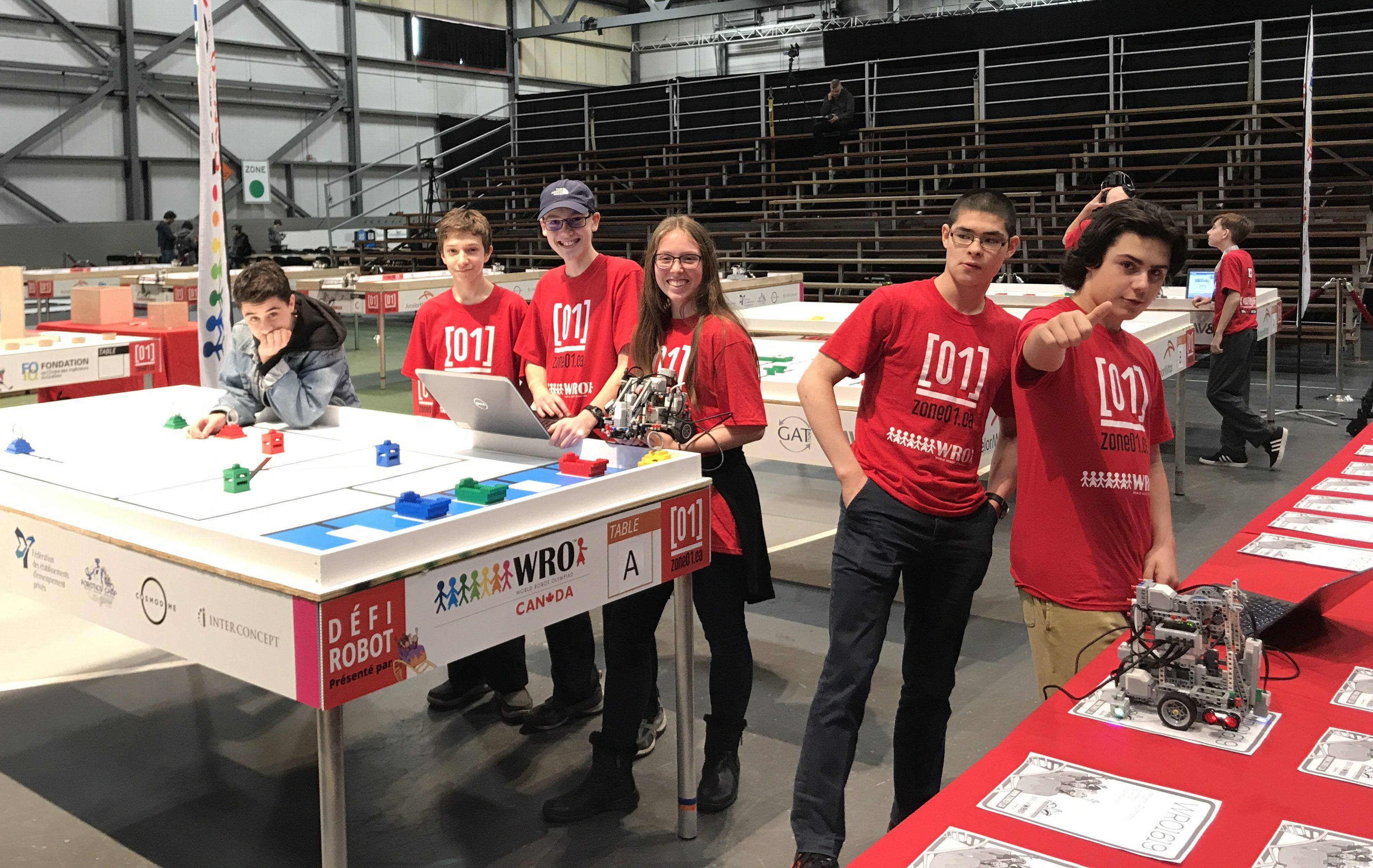 Saison remarquable pour nos équipes de robotique - Collège François ... 271914562a8