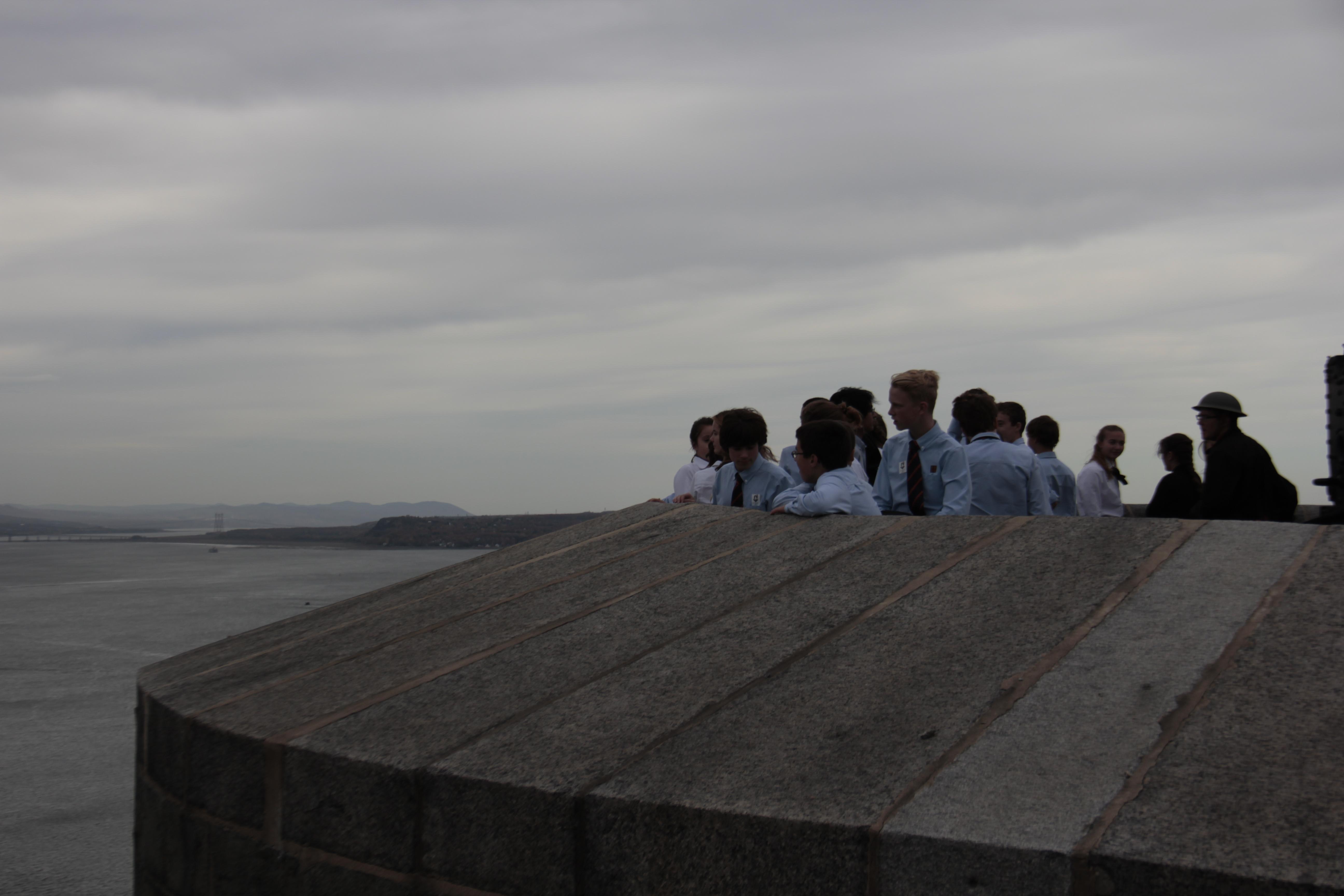 eleves CFDL - citadelle de Quebec
